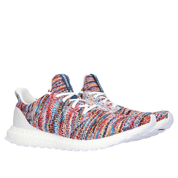 70158d44dca2b Unisex Adidas x Missoni Ultra Boost Clima - White Shock Cyan Active ...