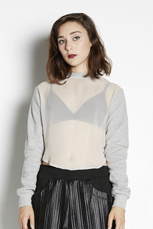 Maurie & Eve Exposure Cropped Jumper