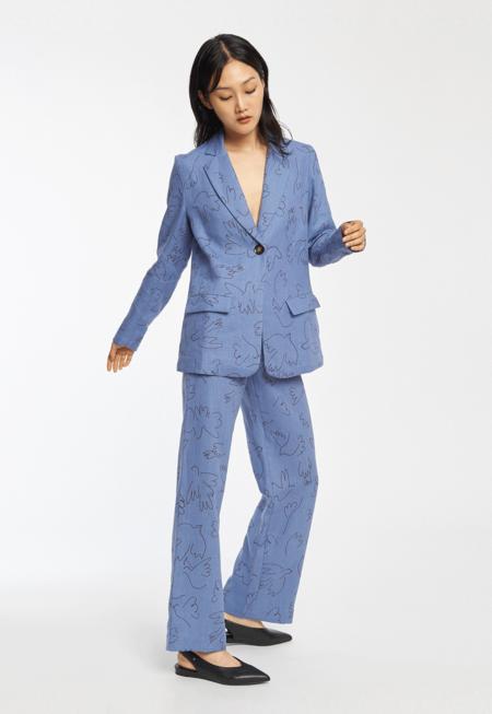 Paloma Wool Alora Blazer - Paloma Soft Blue
