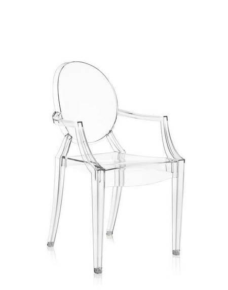 Kartell Louis Ghost Chair - Crystal