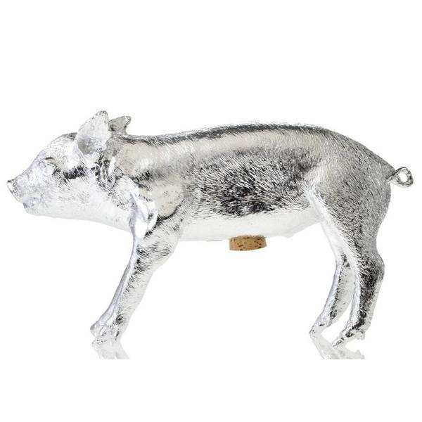 Areaware Bank in the form of a pig - Silver