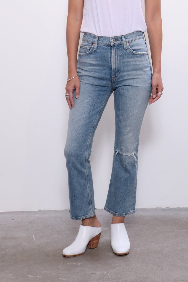 good selling great deals great deals 2017 Citizens of Humanity Demy Cropped Flare Jeans - Stargazer on Garmentory