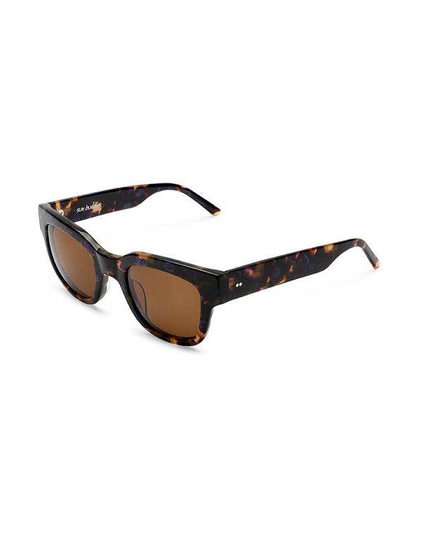 Sun Buddies Liv Sunglasses - Purple Blonde Tortoise