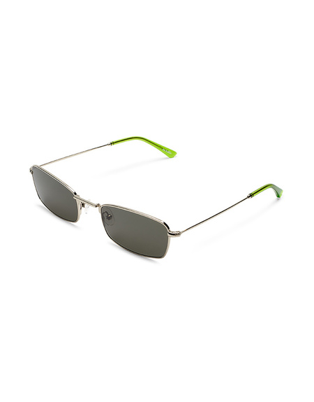 Sun Buddies E-40 Sunglasses - Silver/Gremlin Green