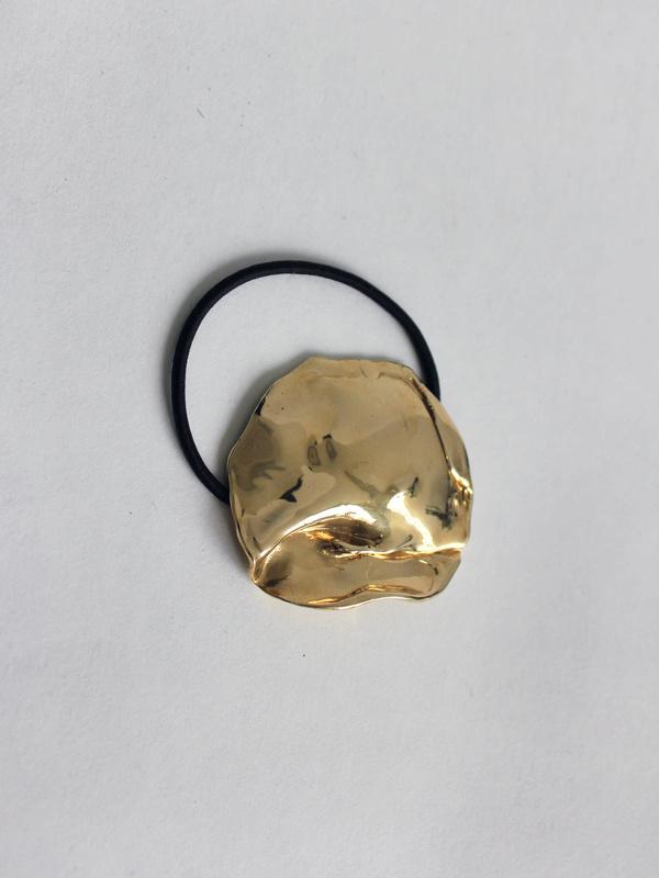 LLY Atelier Molten Metal Hair Tie - Brass