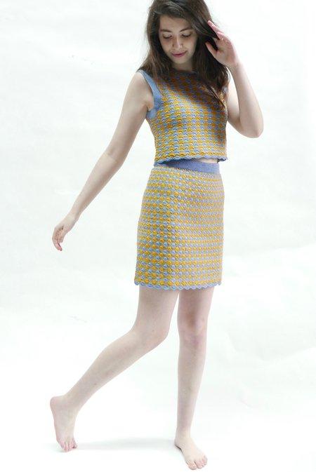 Rachel Comey Sedum Top - Periwinkle