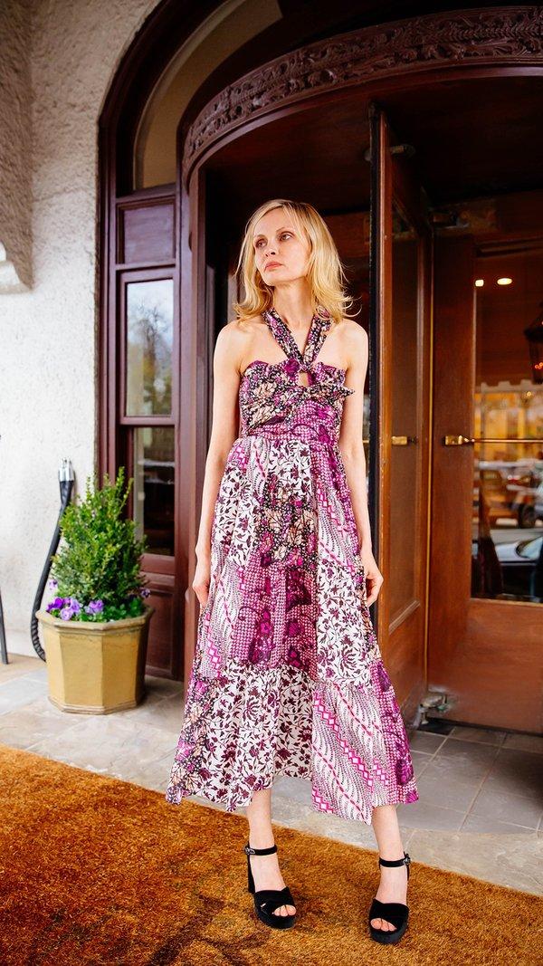Ulla Johnson Naaila Dress - Fuchsia