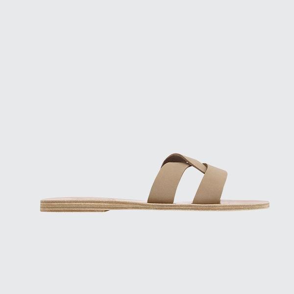 a33f33c3c213d Ancient Greek Sandals Desmos Flat Sandal - Nubuck Canapa | Garmentory