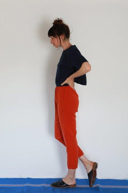 Me & Arrow CUFF PANTS - CAYENNE RED