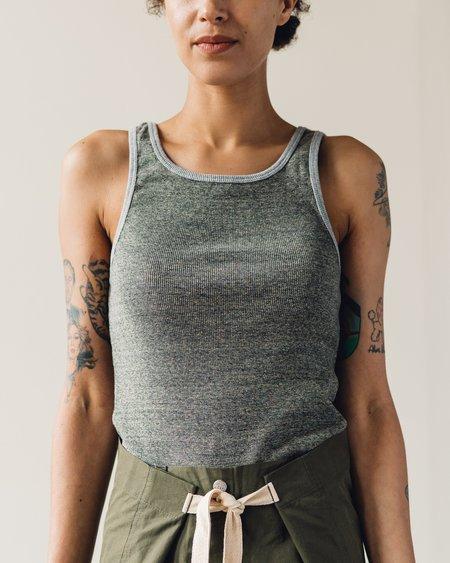 W'menswear Combat Tank - Grey