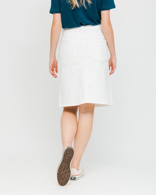 Loreak Texas Skirt - White