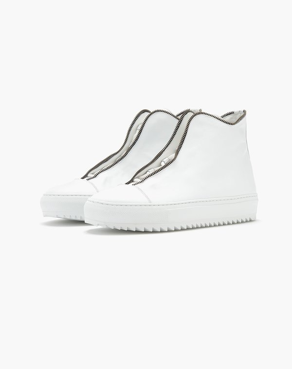 SOUTH LANE AVANT Pure High-top Chunky Sneaker - White