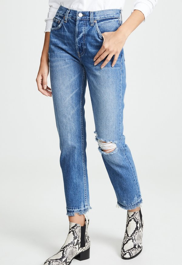 Trave Constance Straight Jeans - Sweet Emotion Destroyed