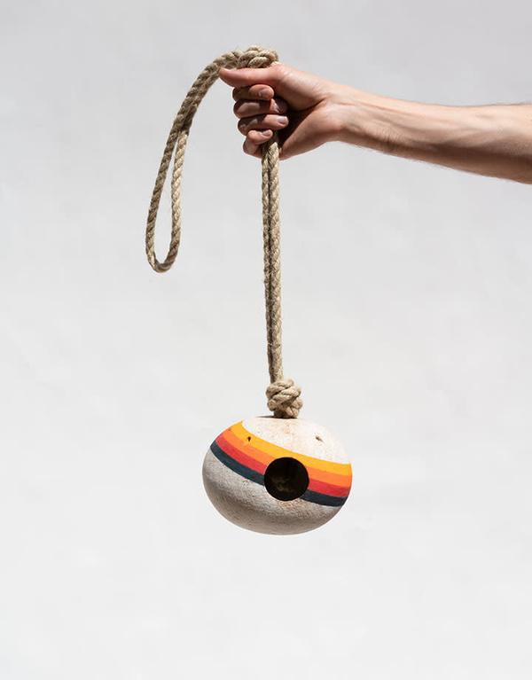 MQuan Birdhouse - Rainbow Rings