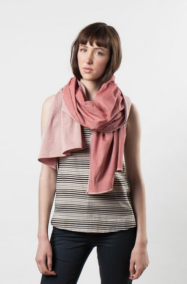 Bridge & Burn Pinstripe Scarf