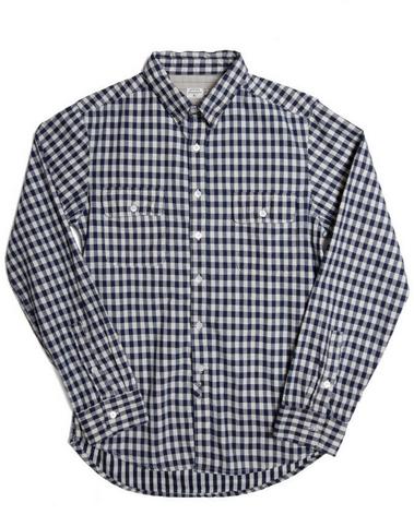 Bridge & Burn Powell Indigo Check Shirt