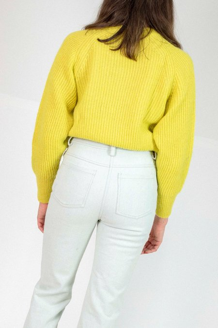 No.6 Darwin Sweater - Citrus