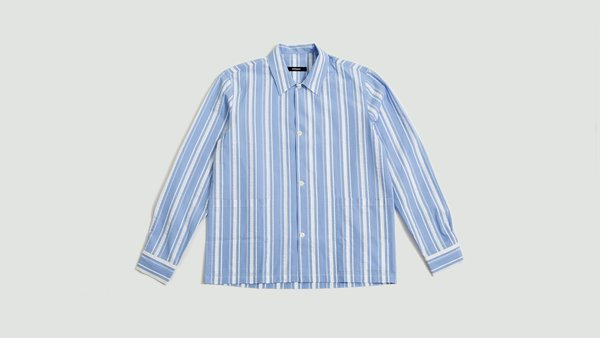 Mfpen Lab Shirt - Blue/White