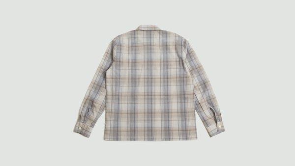 Mfpen Pocket Shirt - Light Brown Checked