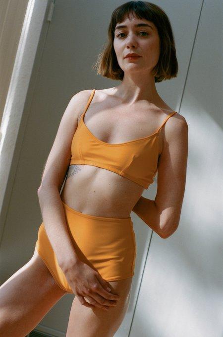 NU SWIM Stas Swim Top - Tangerine