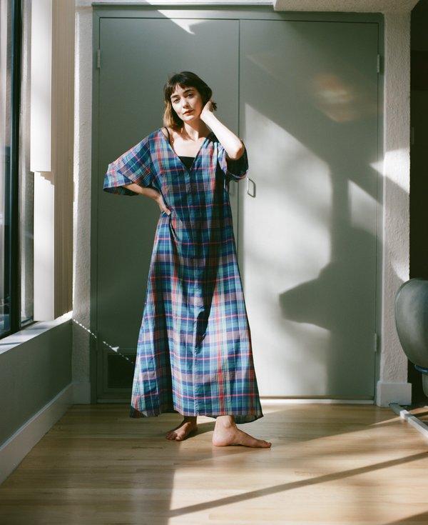NU SWIM Tofu Sleeve Dress - Madras