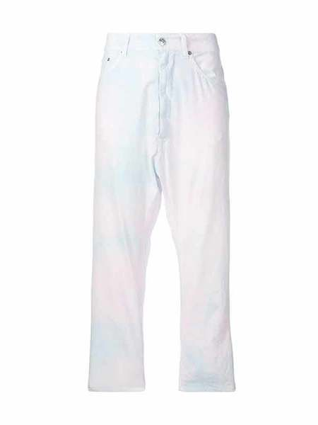 MM6 OVERSIZED PRINTED JEANS - ROSE
