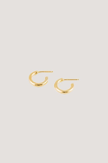 Wolf Circus Gia Baby Hoops - GOLD