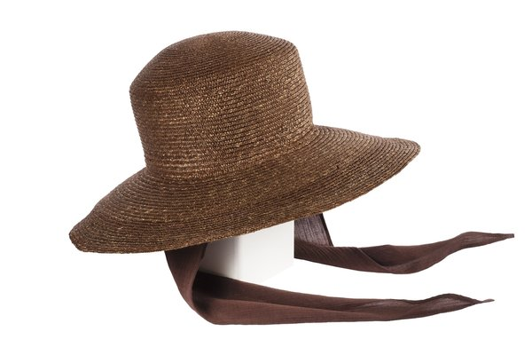 Clyde Medium Brim Flat Top Hat W/ Shade