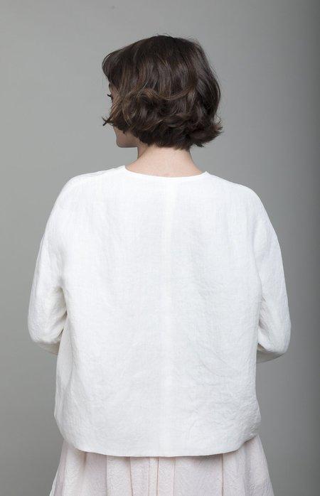 A Punto B Linen Jacket - Latte