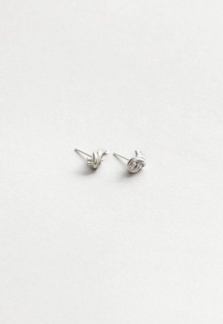 Wolf Circus Emery Studs - Sterling Silver