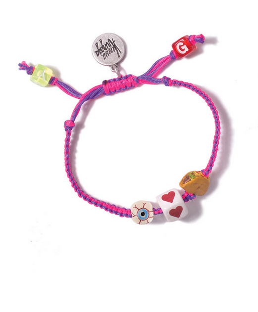 Venessa Arizaga I Heart Tacos Friendship Bracelet