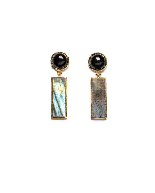 Lizzie Fortunato Morocco Column Earrings