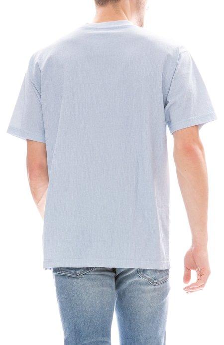 Freshjive Thin Vertical Stripe T-Shirt - Dark Blue