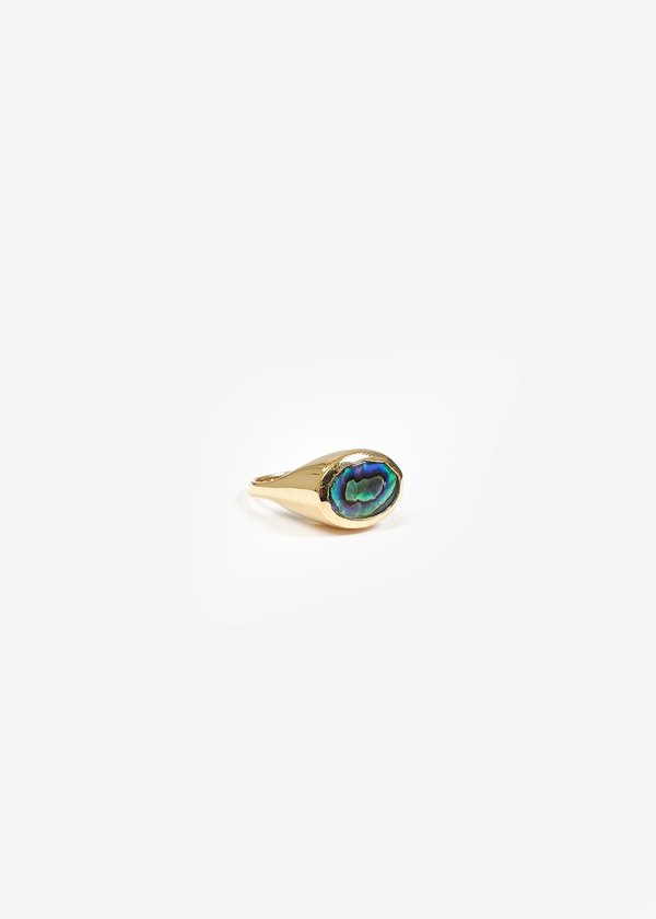Luiny Abalone Pinky Ring No. 2