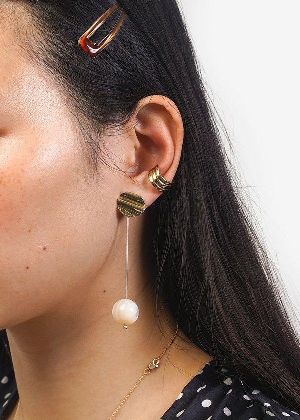Luiny Luna Perla Drop Earrings