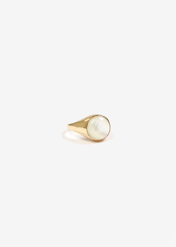 Luiny Luna Perla Ring No. 2 - Brass