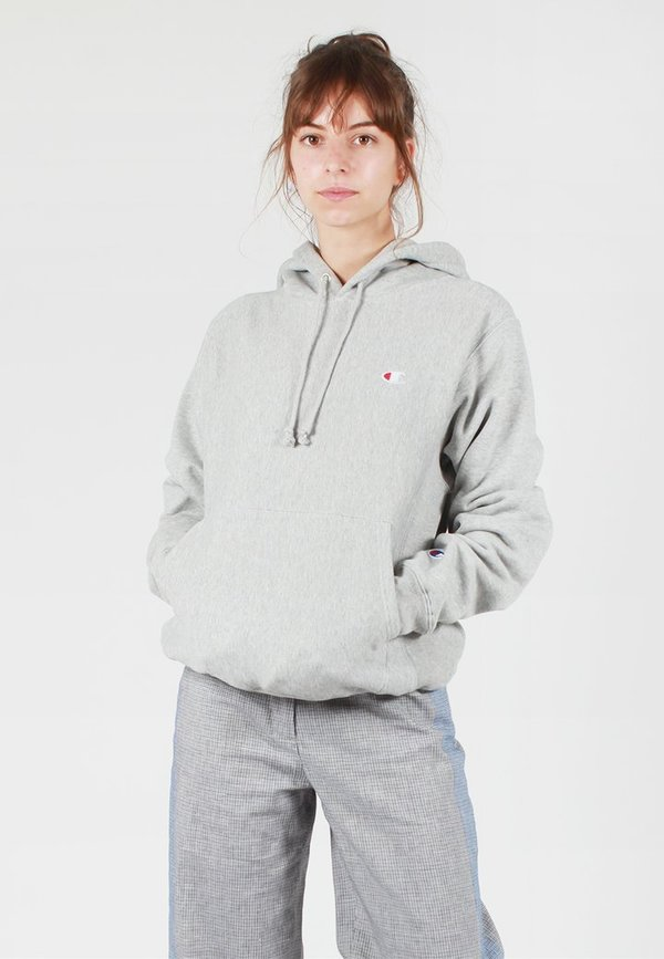 professional website buy cheap 100% top quality Champion Europe Womens Reverse Weave Hoodie - oxford grey on Garmentory