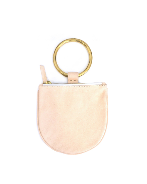 Otaat/Myers Small Ring Pouch in Natural