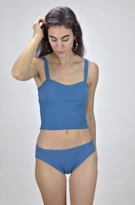 Deta Knitted Swimwear Tank - Stilton