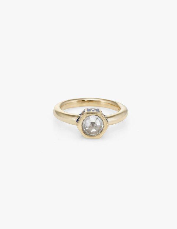 Kathryn Bentley Joan Ring - Cloisonné Rose Cut Diamond