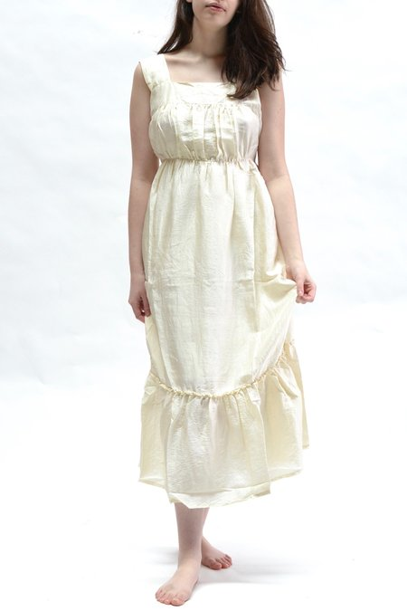 Supernaturae Lingerie Blouse Dress - Natural