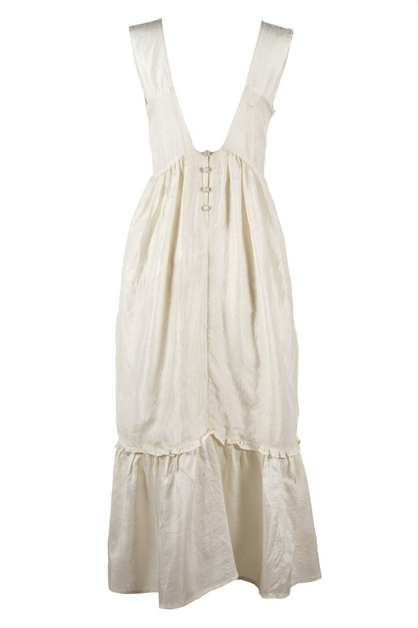 Supernaturae Lingerie Blouse Dress - Natural