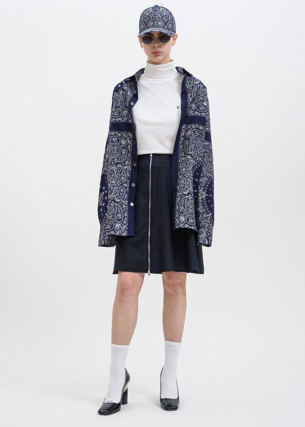Études Studio Steps Skirt - Navy