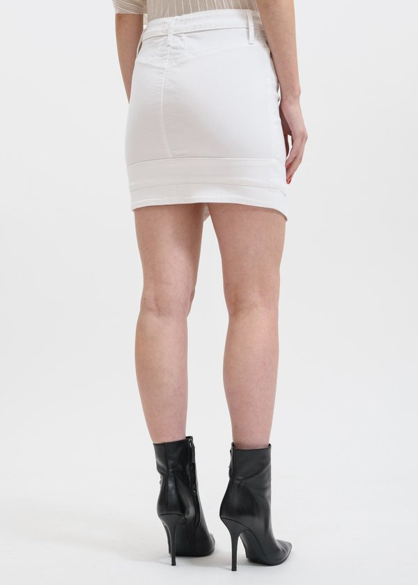 RtA Tempest V-Point Skirt - White