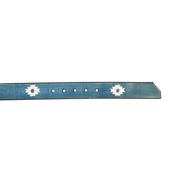 Cause and Effect Belt - Blue Navajo