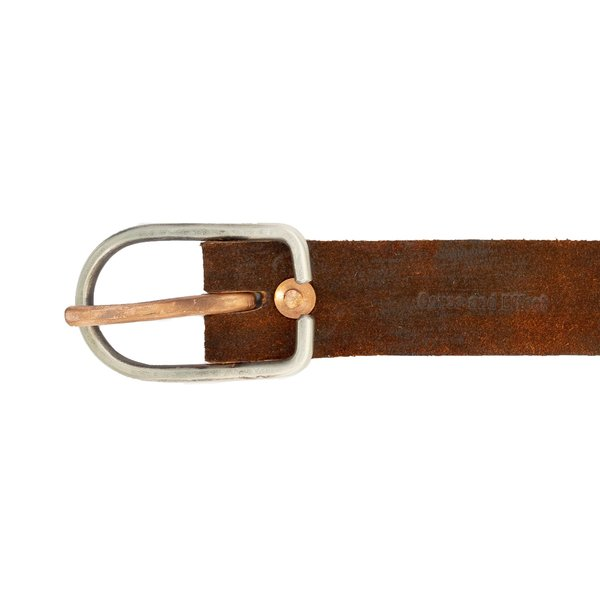 Cause and Effect Suede Belt - Brown