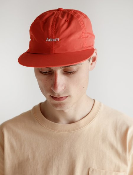 Adsum Snapback Logo Hat - Orange