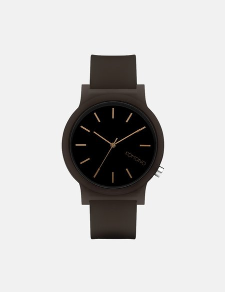 Komono Mono Watch - Black Glow