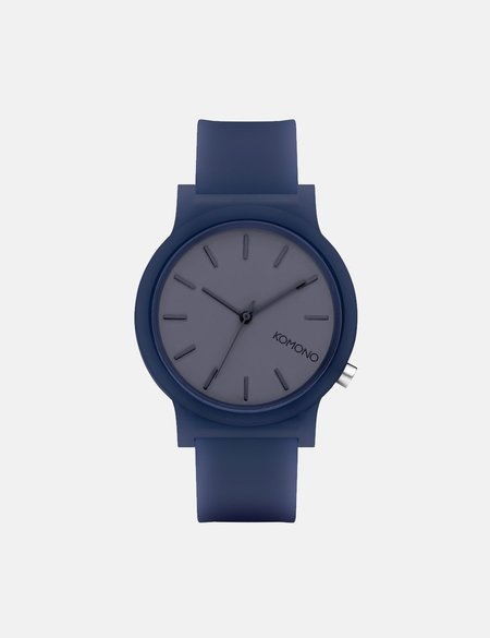 Komono Mono Watch - Navy Glow
