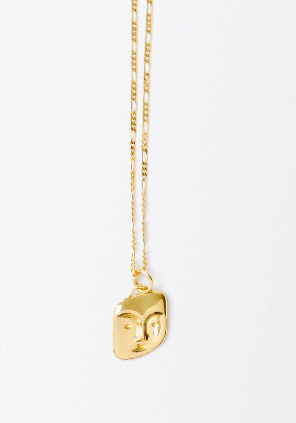 Maria Black Friends Necklace - Gold